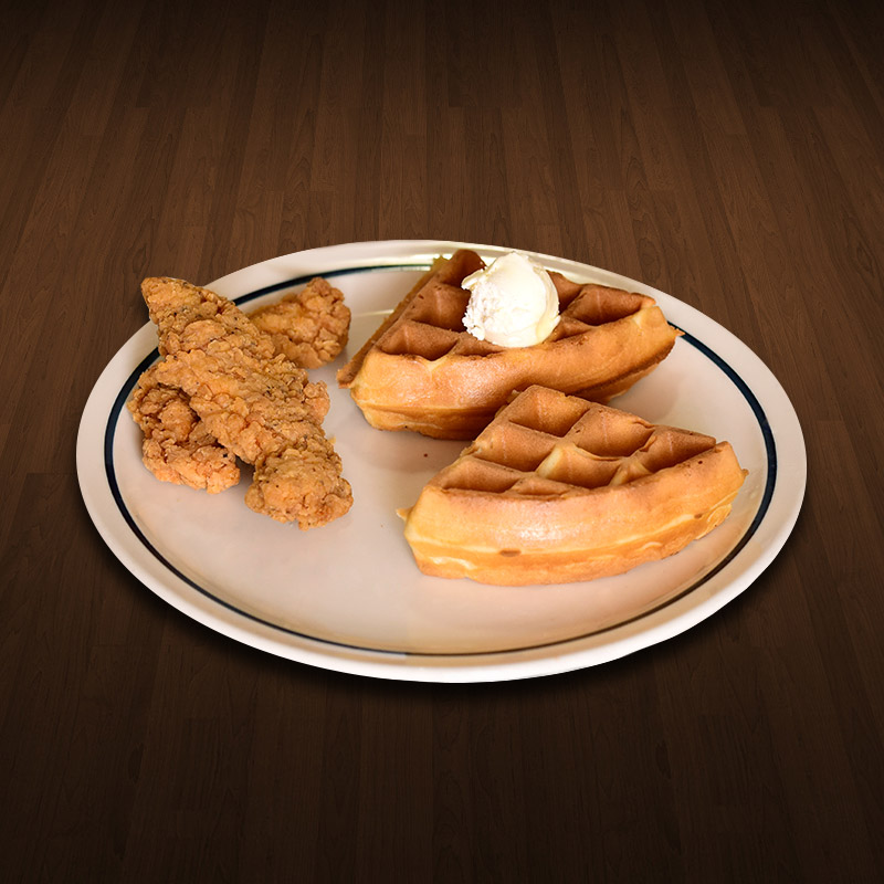 Kids Chicken and Waffles