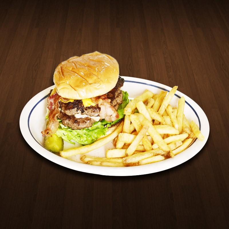 King's Big Cheeseburger
