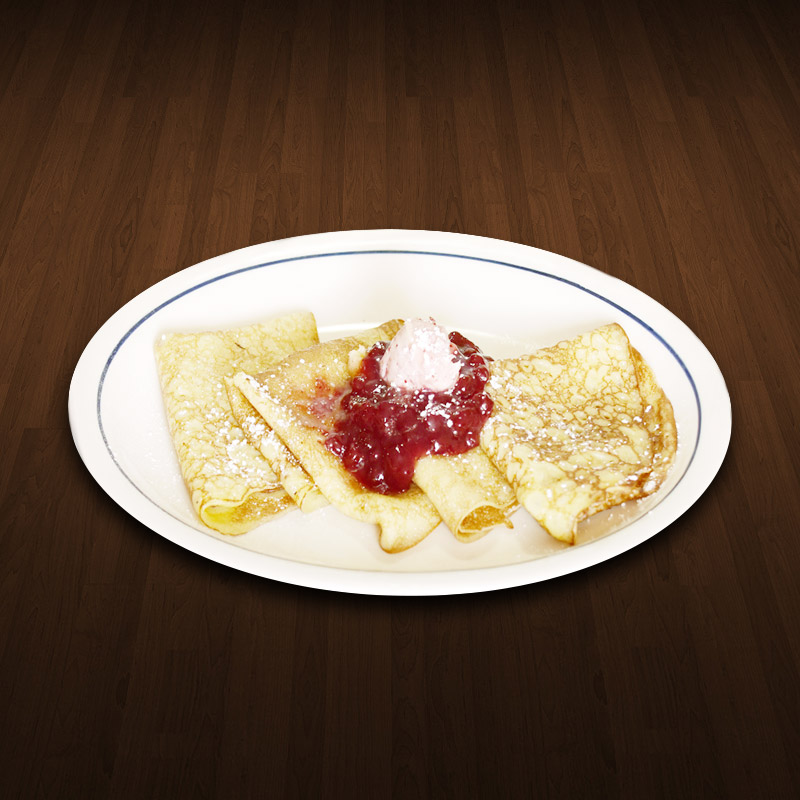 Lingonberry Crepes