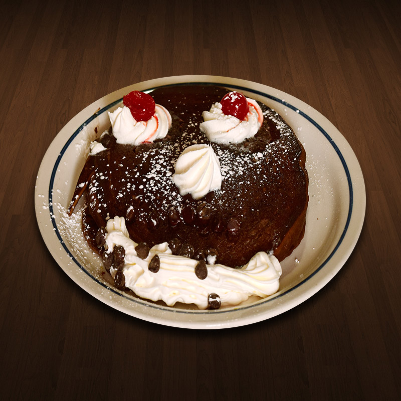 Smiley Choco Pancake