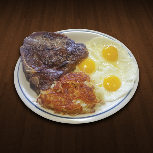 T-Bone Breakfast