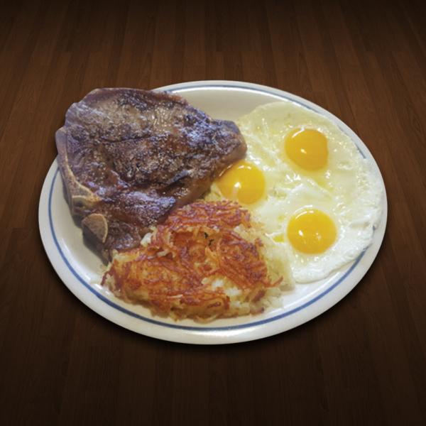 T-Bone Breakfast